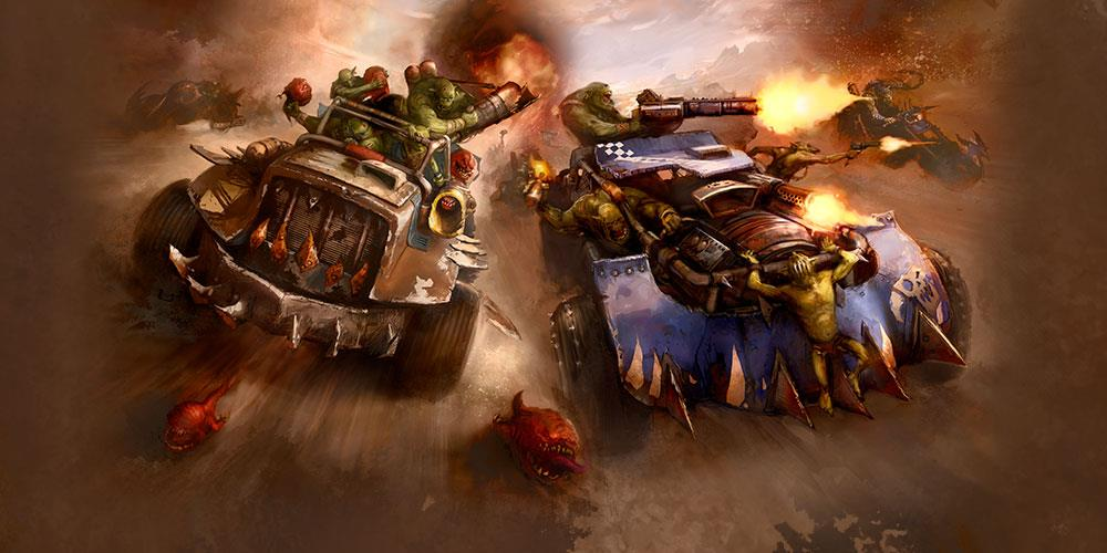 If Mad Max with orks isn't the next Warhammer PC game, we riot
