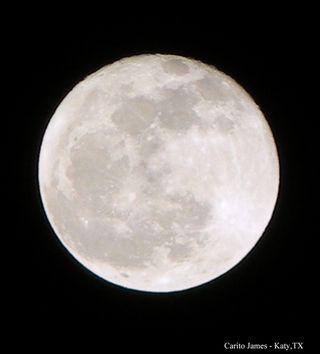 Full Moon over Katy, TX