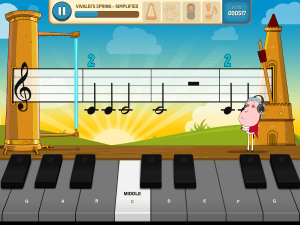 Class Tech Tips: Read Music with Piano Mania