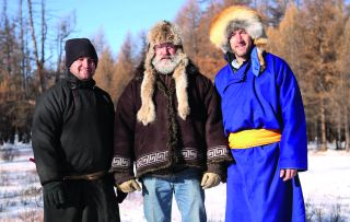 Ben Fogle meets the Cofer family in Outer Mongolia