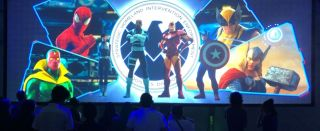 Severtson Screens at The Marvel Experience