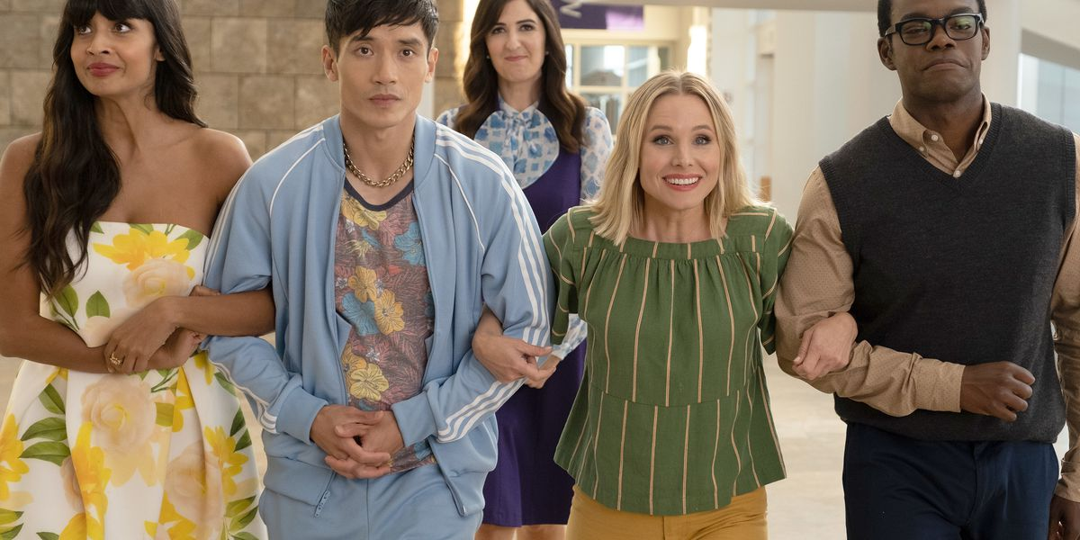 Some of the cast of The Good Place.