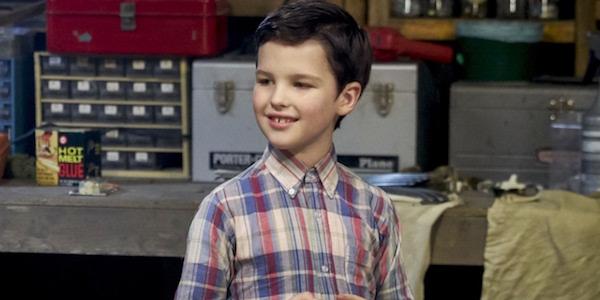 Iain Armitage as Sheldon