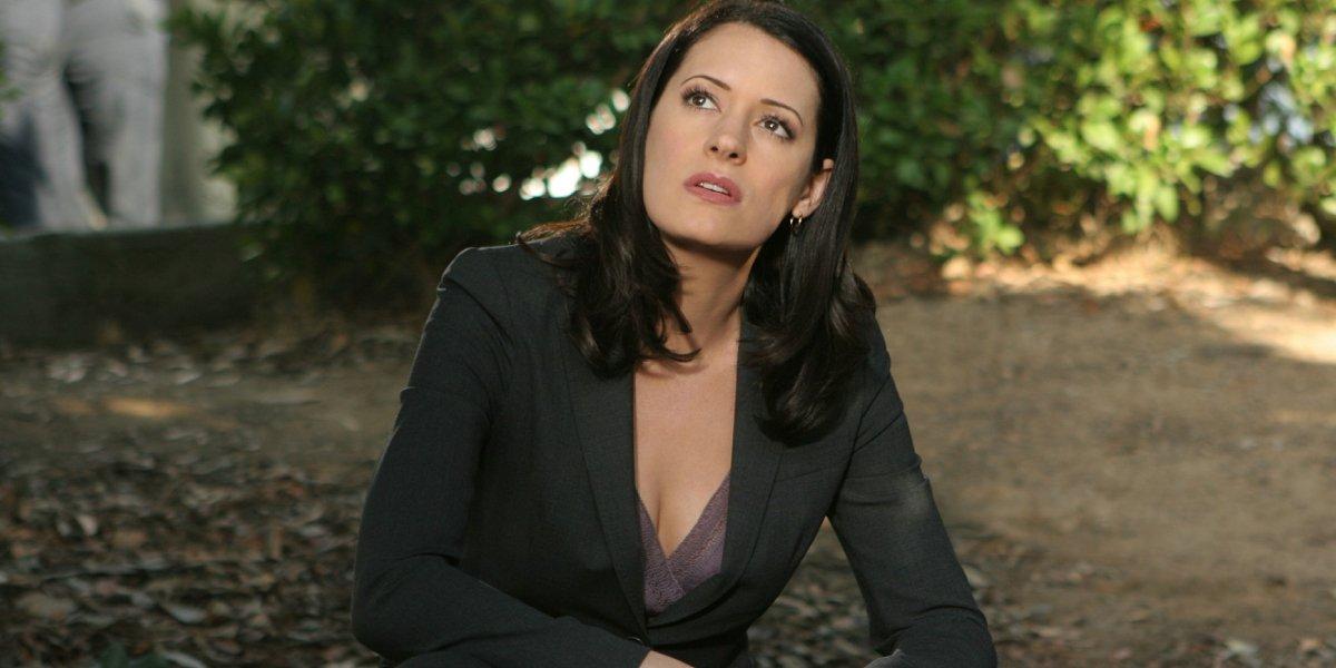 Paget Brewster as Emily Prentiss on Criminal Minds