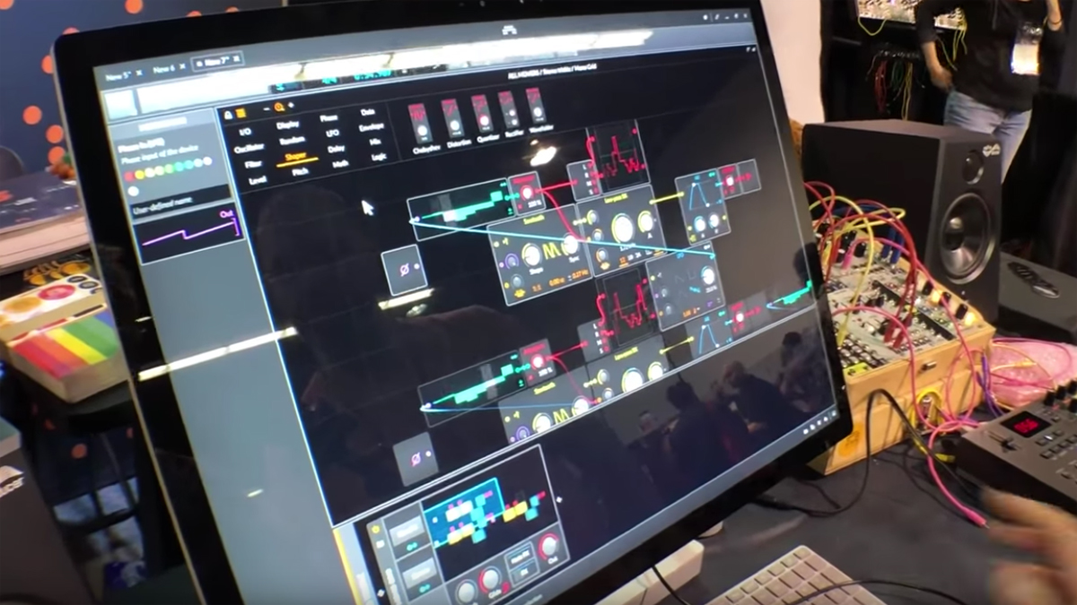 NAMM 2019 VIDEO: Bitwig shows you how to navigate The Grid in