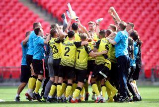 Notts County v Harrogate Town – Vanarama National League – Play-Off – Final – Wembley Stadium