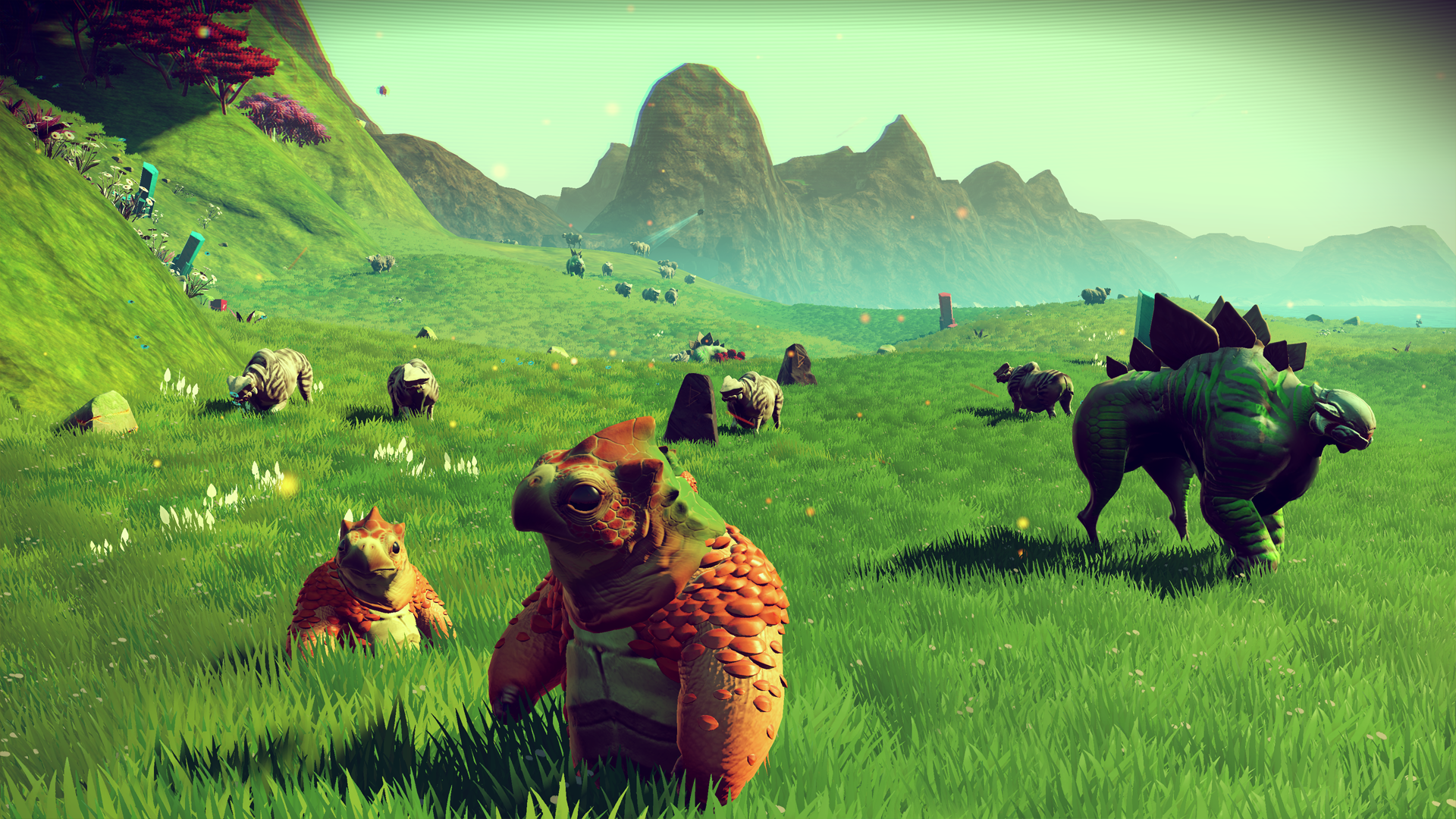 Two No Man's Sky players manage to meet, but apparently can't see each other