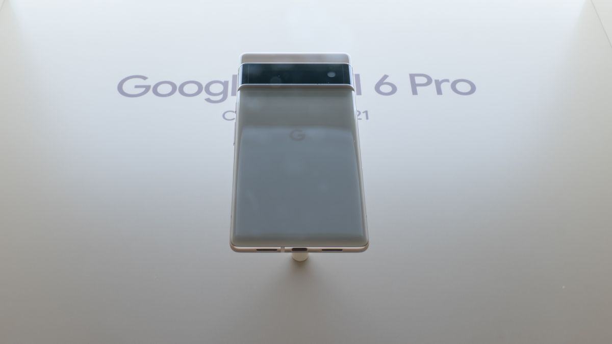 Google Pixel 6 Pro leaked in first hands-on video - TechRadar