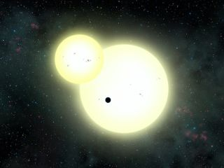 Kepler-1647b: Artist's Illustration