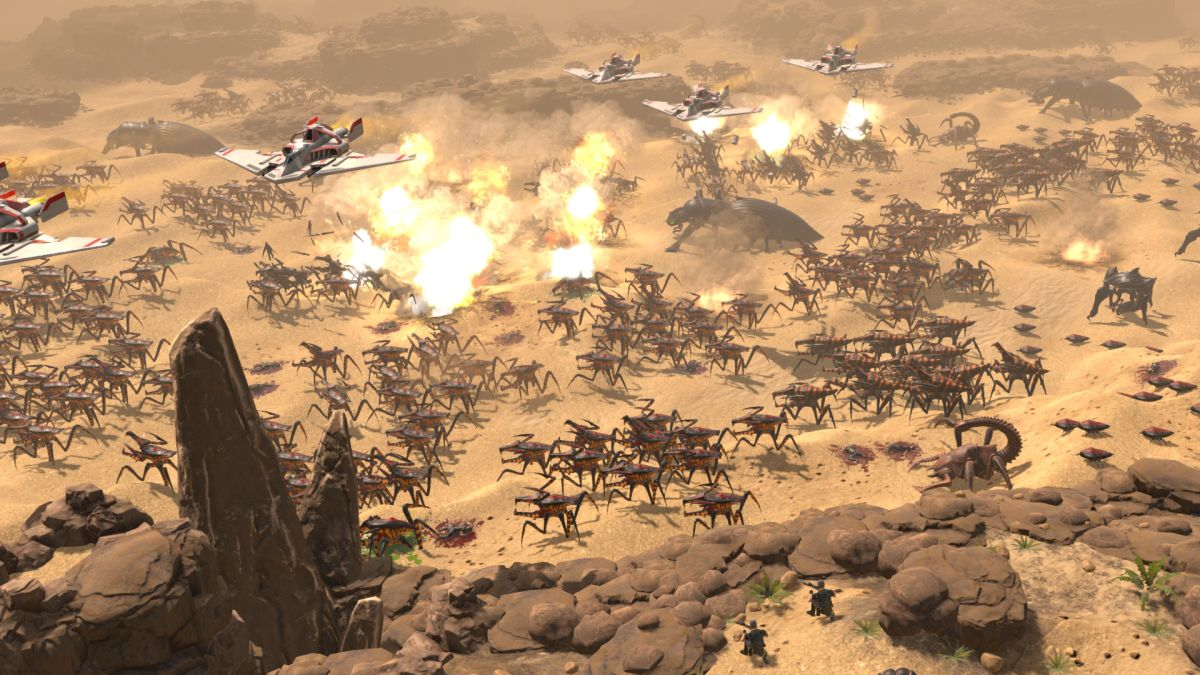 Best Rts 2020.Starship Troopers Terran Command Is A Survival Rts Based On