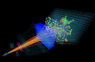 LHCb proton-proton collision