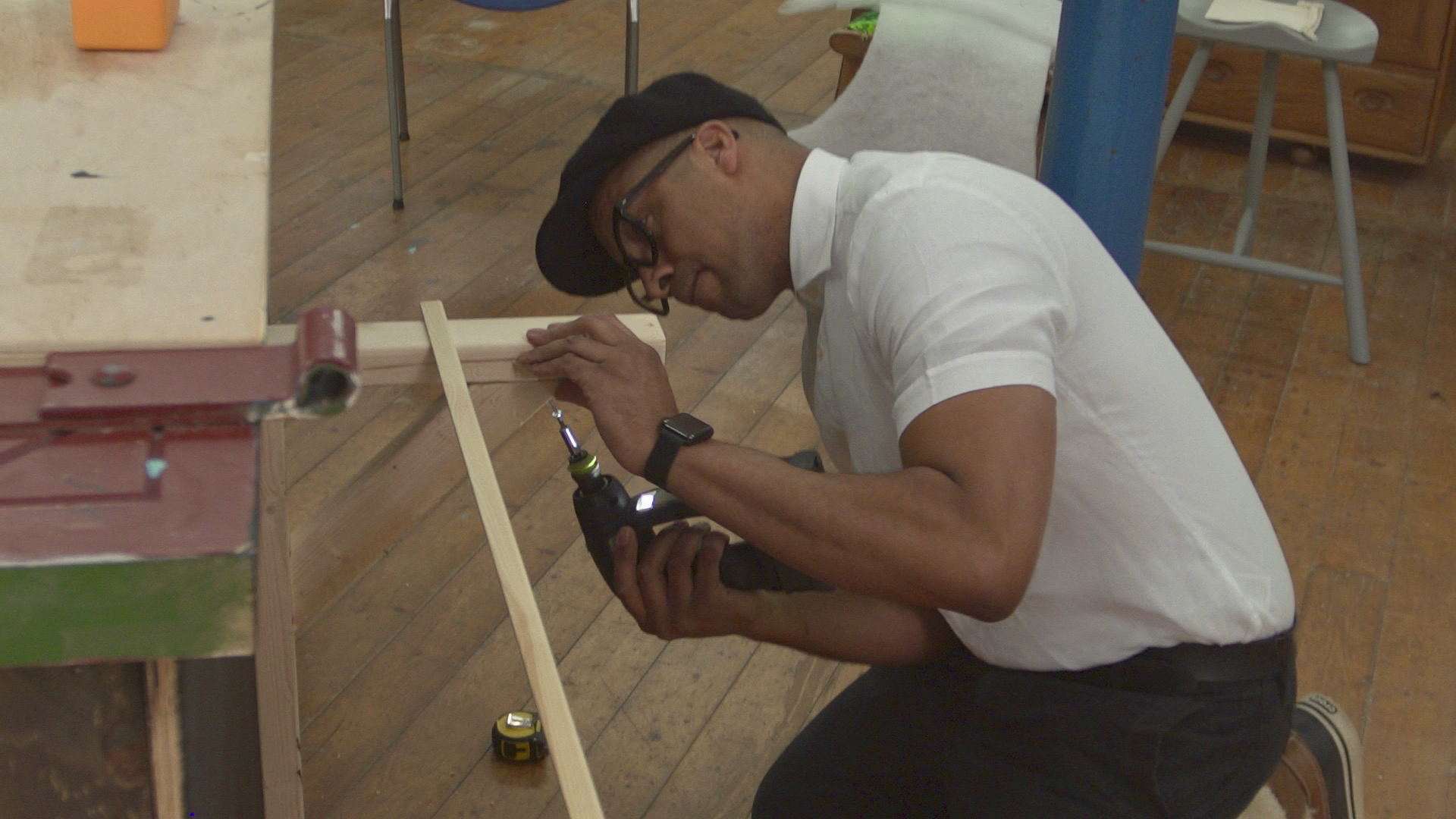 Jay Blades in Jay Blades' Home Fix BBC1