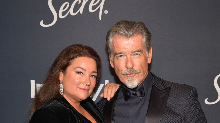 Pierce Brosnan shares sweet photo of 'luscious' wife Keely as fans praise their 20 year marriage