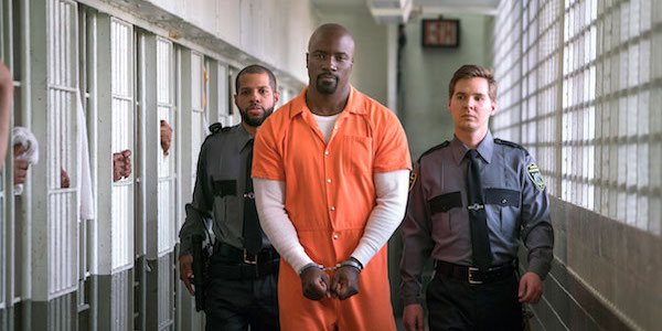 Luke Cage serving time in The Defenders