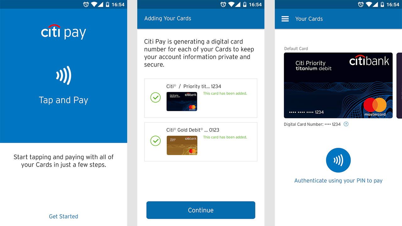 Citibank Secure Login >> Citibank Introduces Digital Wallet App City Pay For Android