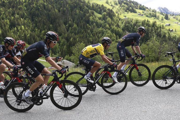 Ineos Grenadiers at the Critérium du Dauphiné 2021
