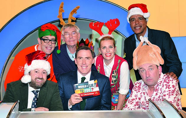 Tom Courtenay, Richard Osman (resplendent in a Christmas jumper), comedian Sara Pascoe and sports presenter Chris Kamara join David Mitchell and Lee Mack for a special festive edition of the show.