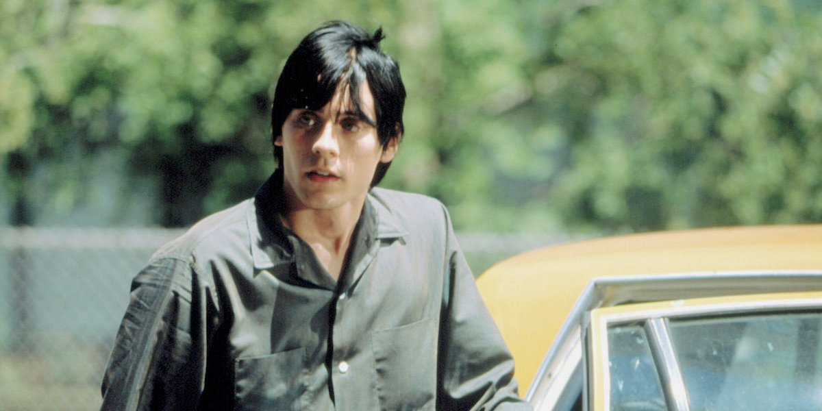 Jared Leto as Harry Goldfarb in Requiem for a Dream.
