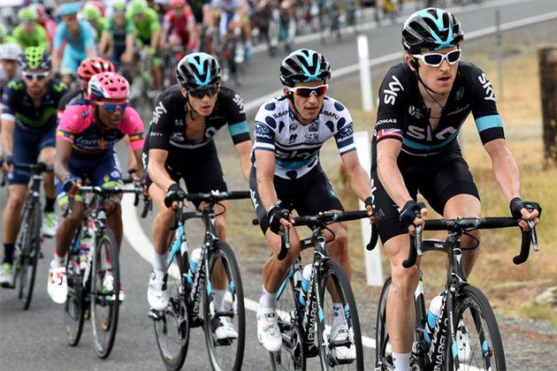 Thomas Henao Team Sky Tour Down Under 2016