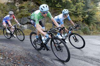 Cycling: Vuelta España 2020 / Tour Spain 2020 / 5 Etapa / 5 Stage / BUNCH / PELOTON / Huesca - Sabiñanigo (184,4 km) 24-10-2020/ Cycling: Vuelta España 2020 / Tour Spain 2020 / 5 Etapa / 5 Stage / ©PHOTOGOMEZSPORT2020
