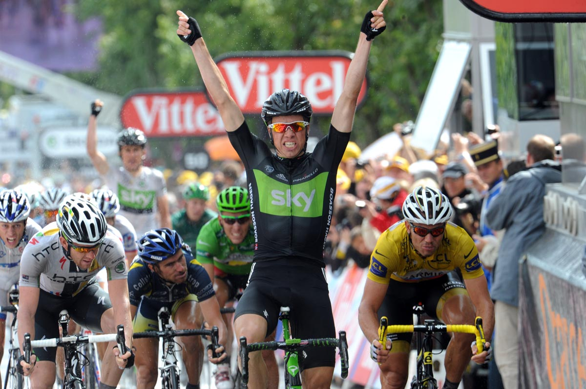 ce2f60863 Boasson Hagen takes Sky s first Tour de France win - Cycling Weekly