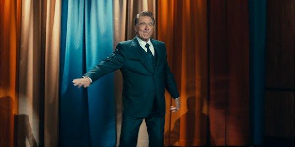 Robert De Niro as talk show host Murray Franklin in Joker