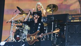 Mikkey Dee and Lemmy Kilmister of Motorhead