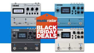 Boss Black Friday sale now on! Make big savings on the Boss DD-500, MD-500, RV-500 and VE-500 effects pedals