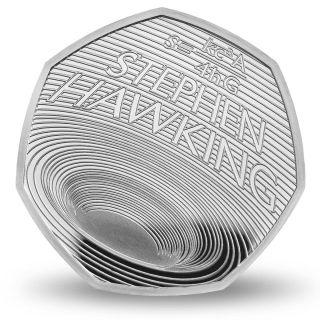 stephen hawking coin