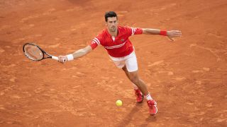French Open live stream — Novak Djokovic in action in the semi-final against Rafael Nadal