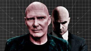 David Bateson and Agent 47