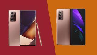 Samsung Galaxy Note 20 Ultra vs Galaxy Z Fold 2