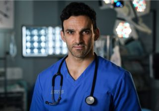 Davood Ghadami as Eli in Holby City.