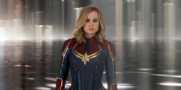 Brie Larson Carol Danvers Captain Marvel MCU