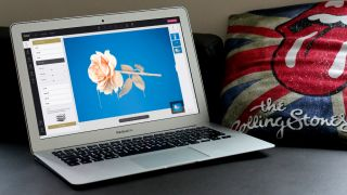 Fotor running on a Macbook Air
