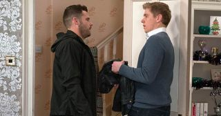 Aaron Dingle feels paranoid when Robert Sugden sneaks out to work rather than celebrating his birthday. He's further left worried when Robert tells him he's meeting Rebecca White rather than going out for a meal in Emmerdale