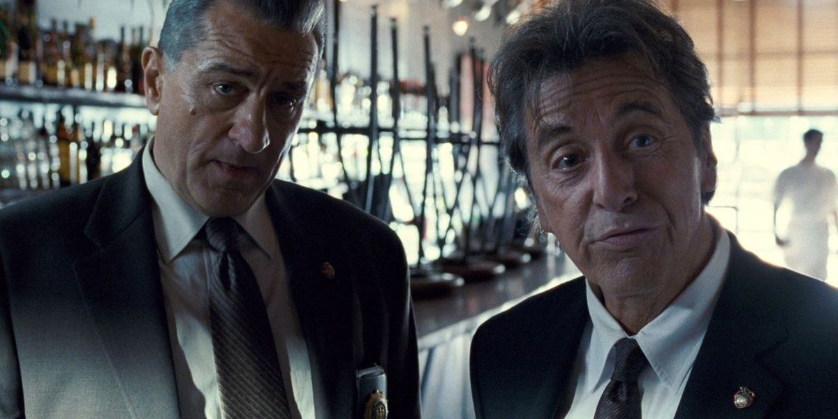 Robert De Niro and Al Pacino in The Irishman
