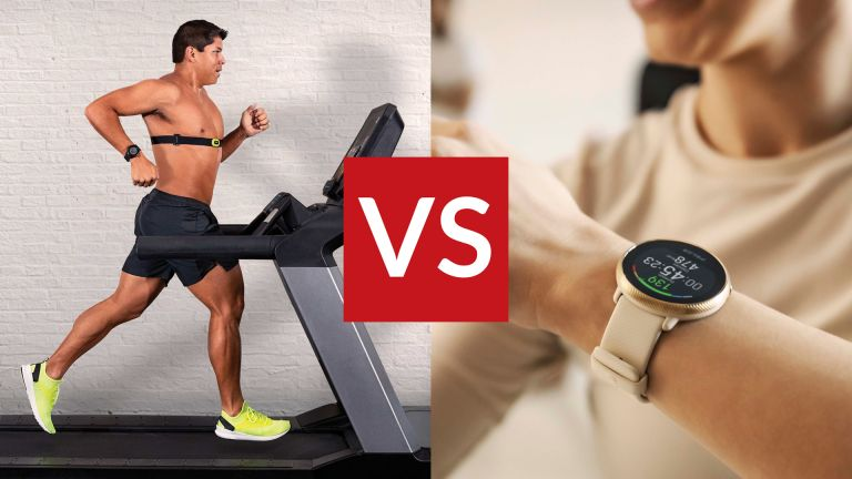 heart rate monitor vs running watch