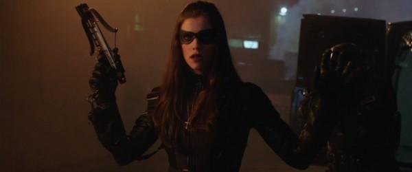 Jessica De Gouw as the Huntress on Arrow