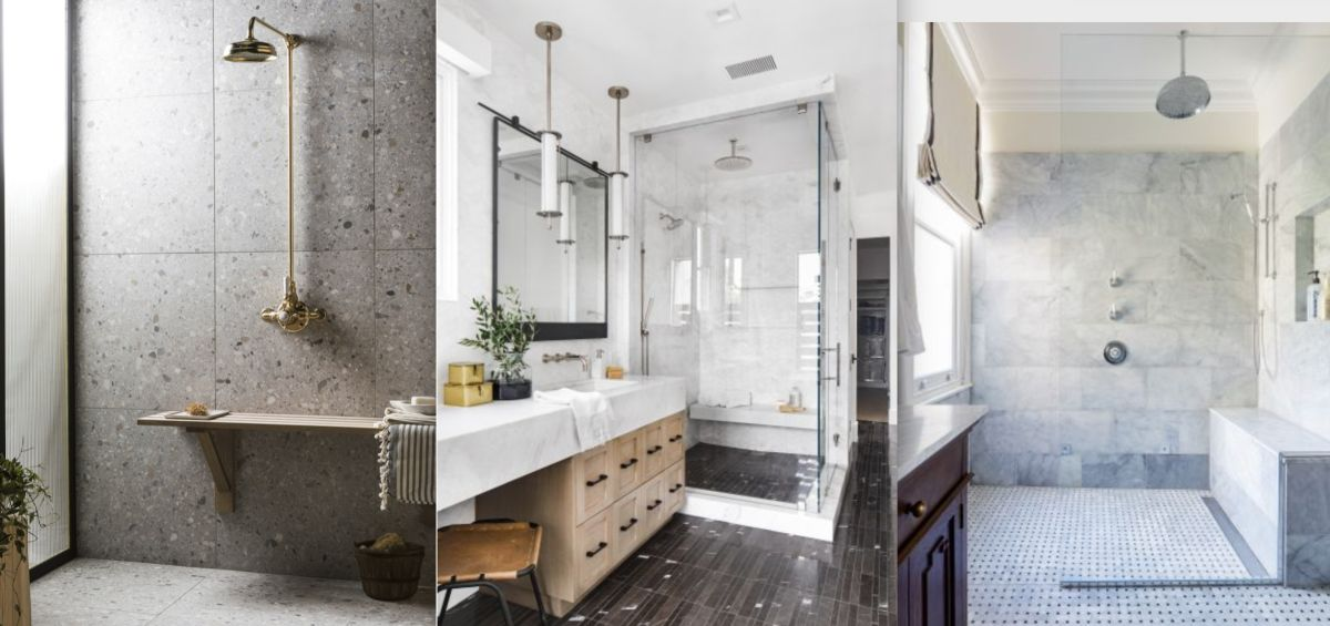 Shower bench ideas – 10 ways to inspire you to use this nifty design feature