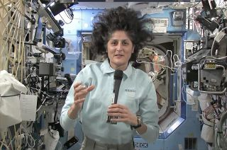 "Expedition 33 commander Sunita ""Suni"" Williams"