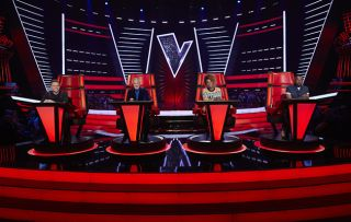 The Voice UK - shows the judges