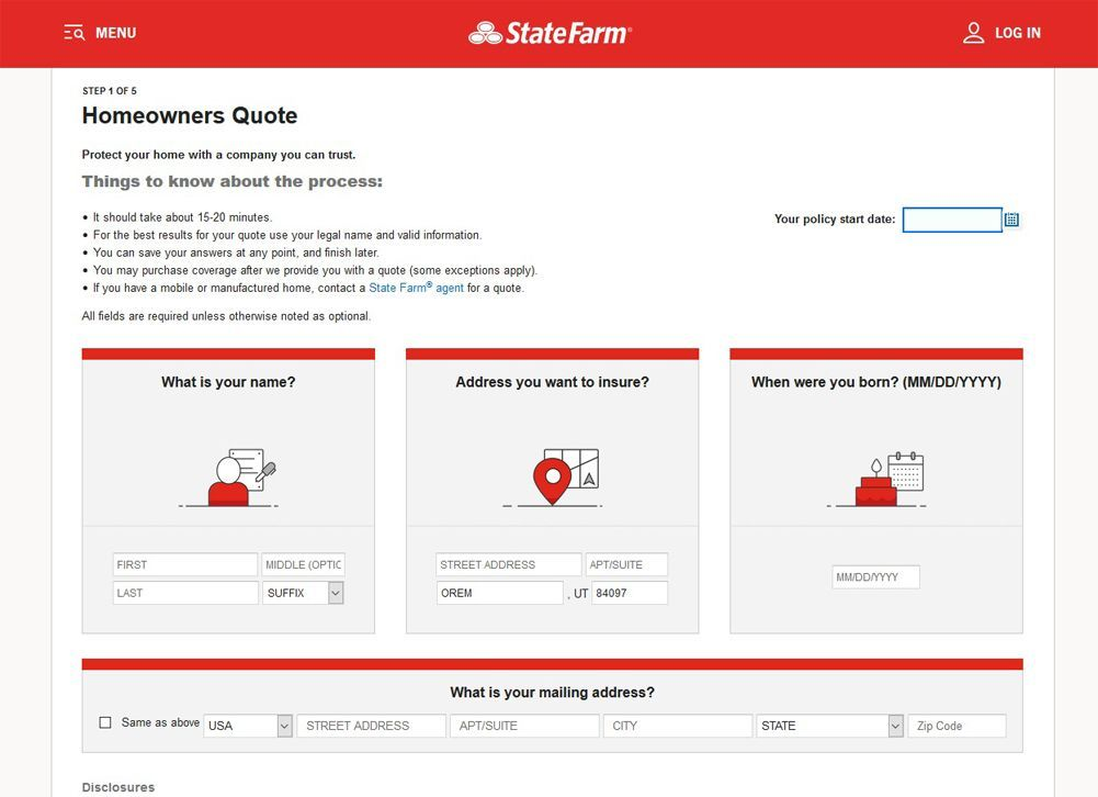 State Farm Life Insurance Review July 2019 Finder Com >> State Farm Homeowners Insurance Review Premiums Coverage Top