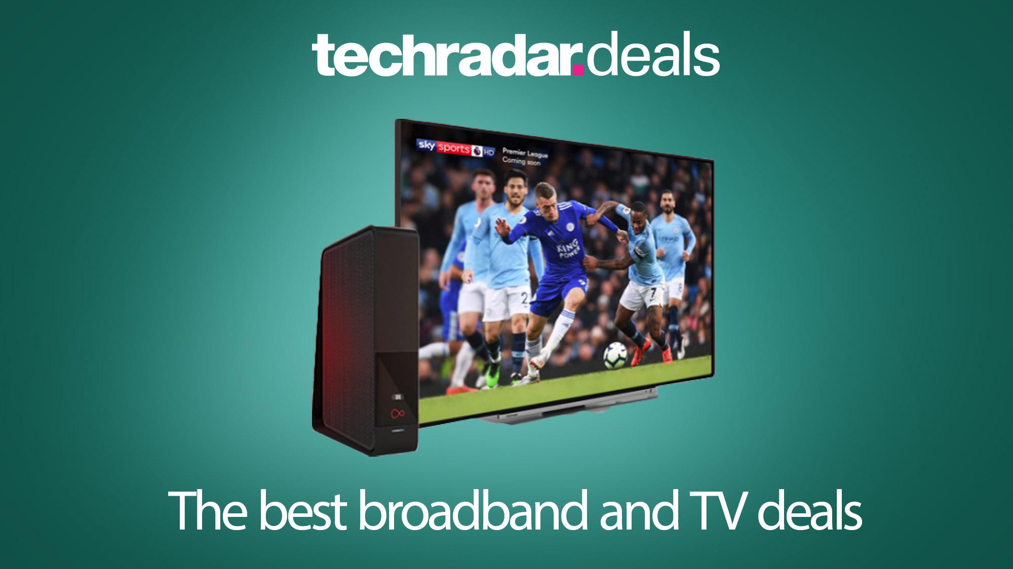 tv and broadband deals no line rental