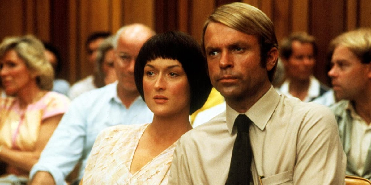 Meryl Streep and Sam Neill in A Cry in the Dark