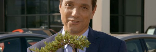 Daniel and his bonsai tree