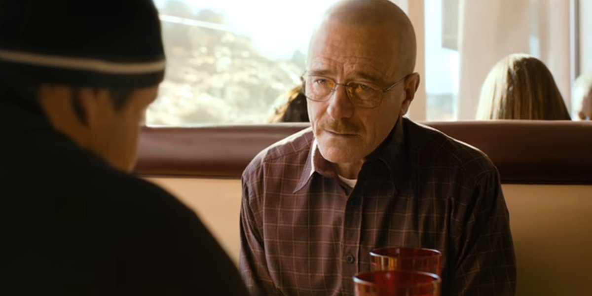El Camino diner scene Jesse Pinkman and Walter White Netflix