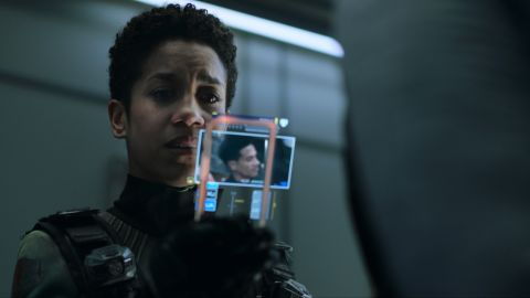 "Dominique Tipper as Naomi Nagata in Season 5 of ""The Expanse"" on Amazon Prime Video."