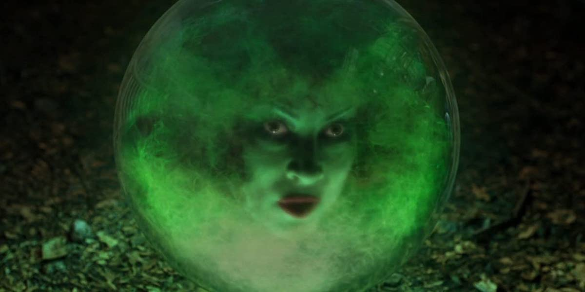 Jennifer Tilly as Madame Leota in Haunted Mansion