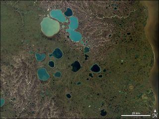 siberia lakes